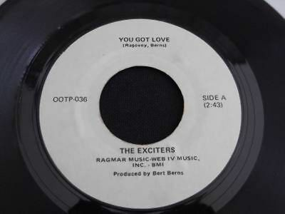 """The Exciters You Got Love / Number One  7"""" Vinyl Northern Soul"""