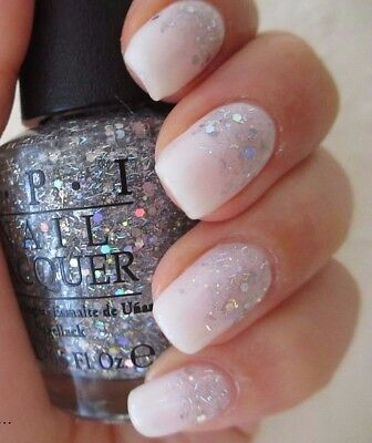 Opi Wizard Of Oz Which Is Witch Silver Holo Glitter Nail Polish Lacquer