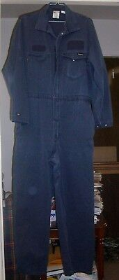 """Coveralls Flame Resistant Workrite Westex Ultra 50R 30"""" A XL Navy Blue ARC 12.4"""