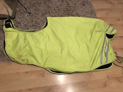 Shires hi viz Equi Flector wrap around exercise sheet