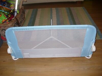 Lindam bed guard, blue