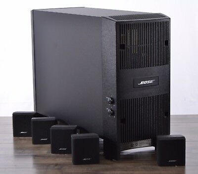 Bose Acoustimass 6 Series III 5.1-channel Home Theater Speaker Subwoofer System
