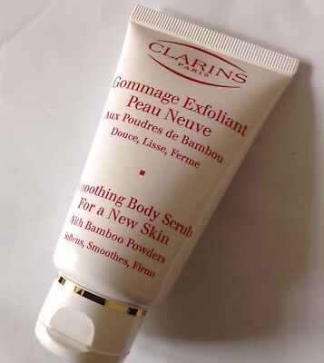 Clarins Smoothing Body Scrub for a New Skin with Bamboo Powders 75ml
