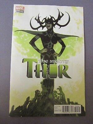The MIGHTY THOR #700 Adam Hughes 1 In 100 HELA Variant Jason Aaron NM+