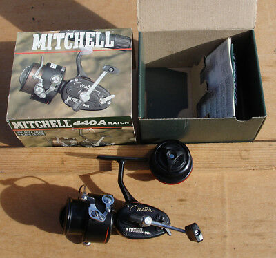 vintage reel MITCHELL 440 A match in box