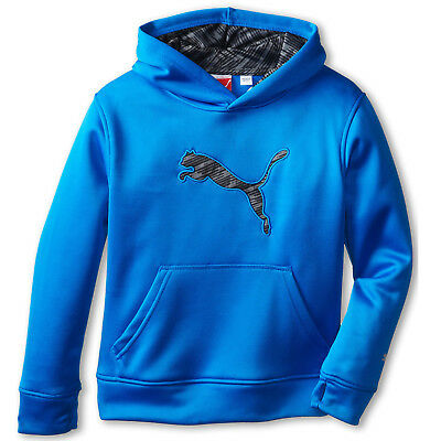 New with Tags Boys 8-20 PUMA Big Cat Performance Hoodie Blue MSRP $40.00