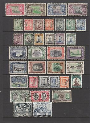 Southern Rhodesia KGVI  collection 36 stamps