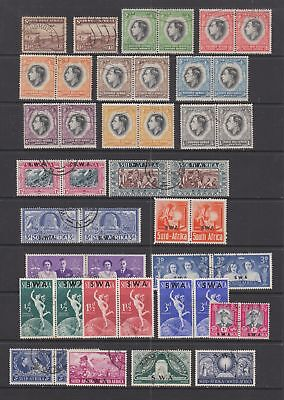 South West Africa, fine used KGVI collection