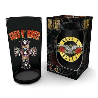 Guns N? Roses Premium Pint Glass Logo