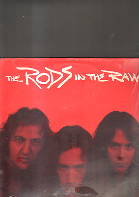 THE RODS - in the raw LP