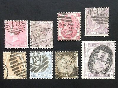 GB Queen Victoria Surface Printed. General Used Selection. (cat £855)