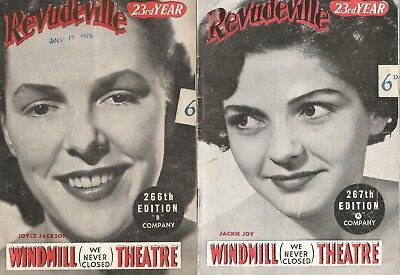 1954 TWO WINDMILL PROGRAMMES - 23rd Year -Edition 266 and 267
