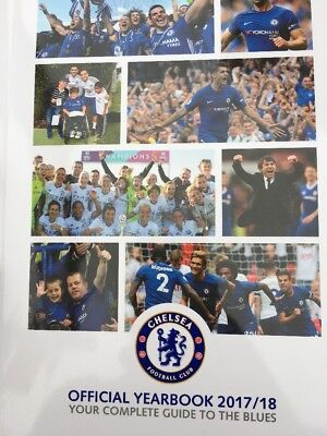 2017/18.official Chelsea Yearbook.premier League Champions Edition.mint Unopened