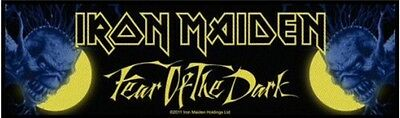 IRON MAIDEN Fear Of The Dark Super Strip Patch Sew On Official Band Merch