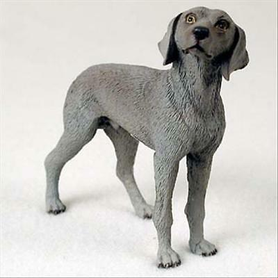 Weimaraner Dog Hand Painted Canine Collectable Figurine Statue