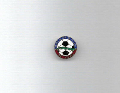 Vintage Football Badge - CUBA FOOTBALL ASSOCIATION