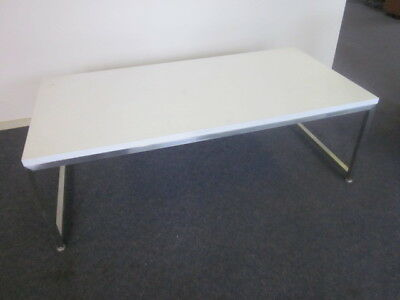 White Table,  Display Stand, Clothing / Shoe Stand, Accessory Stand