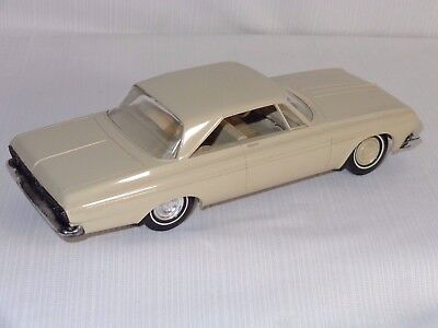 1964 Plymouth Fury Hard Top Dealer Promo Car 1/25th