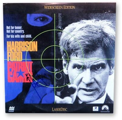 Harrison Ford Signed Autographed Laserdisc Cover Patriot Games GV865975