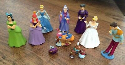 Cinderella Figures - Disney - Prince Charming -Lady Tremaine - Ugly Sisters
