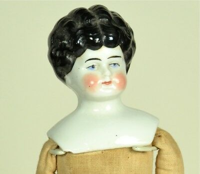 """German China Head, 12"""" tall, As Is, No Reserve"""