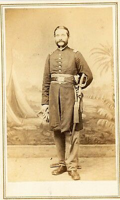 CDV Identified Civil War Soldier,1st New Hampshire H A  Allen Quimby