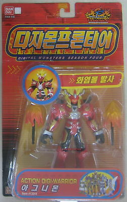 Bandai Digimon Action Digi Warrior Agnimon Figure