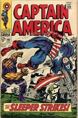 Captain America #102 - VF-