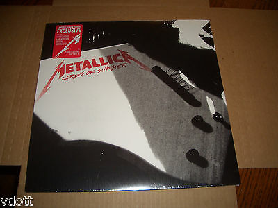 "Metallica Lords Of Summer 12"" Single Lp Vinyl Rsd Black Friday Record Store Day"