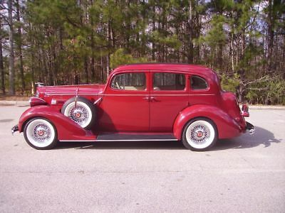 1936 Packard 120 Touring Sedan -- 1936 Packard 120 Touring Sedan 4,155 Miles 350 V8 Automatic P/S P/B AC All Steel
