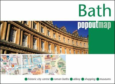 Bath PopOut Map by Compass Maps (Sheet map, folded, 2017)