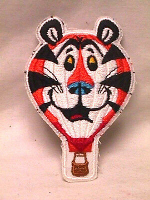 Vtg 1985 Kellogg's TONY THE TIGER Hot Air Balloon PATCH Never Used NOS 80s 4.25""