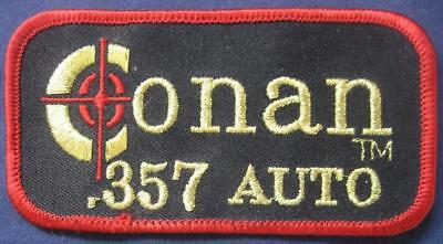 """4"""" Unused Coonan .357 Automatic Embroidered Pistol Patch Firearms Gun 357"""