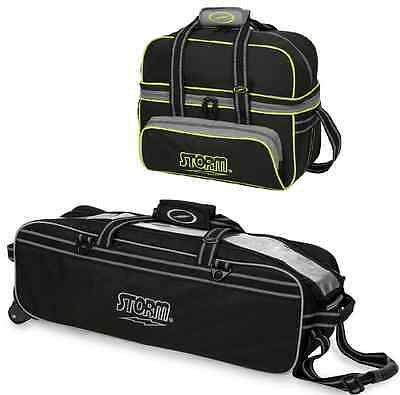 Storm 2 & 3 Ball Tournament Tote Bowling Bag Combo