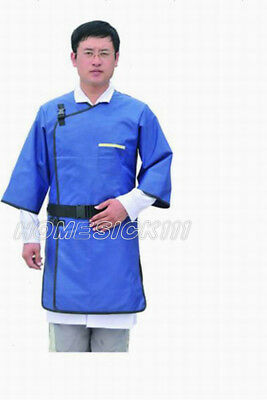 SanYi X-Ray Protective Imported Flexible Material Lead Apron Coat 0.5mmpb blue M