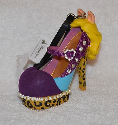 Disney Parks The Muppets MISS PIGGY Runway Shoe  Ornament Christmas Holiday NEW