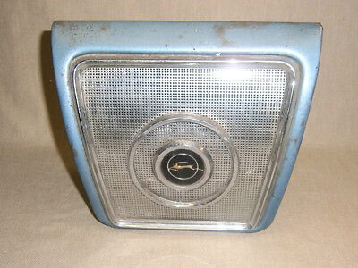 Vintage Chevrolet Impala Convertible Rear Seat Speaker Grille