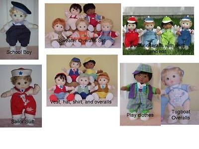 My Child Doll Clothes Patterns Girls and Boys get started on Holiday sewing!