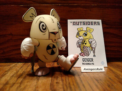 The Outsiders Vinyl Mini-Figure Series By J.Led Kidrobot Geiger