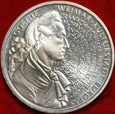 Uncirculated 1999-F Germany 10 Mark Foreign Silver Coin Free S/H