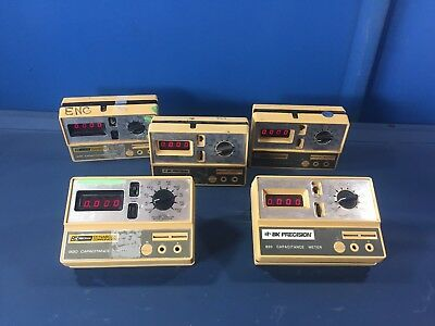 5 Bk Precision 820 Capacitance Meters