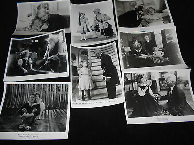 Shirley Temple 8 Photos Little Colonel Poor Little Rich Girl Heidi Baby Take Bow