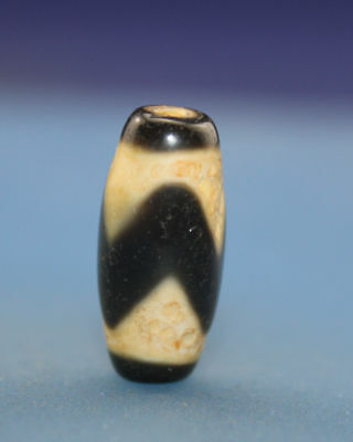 "21*10 mm Antique  Dzi  Agate  old "" Tiger tooth "" Bead from Tibet Free shipping"