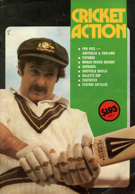 1978-79 Cricket Action annual, including much World Series Cricket info