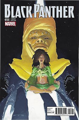 BLACK PANTHER #6, RIBIC CONNECTING B VARIANT, New, Marvel Comics (2016)