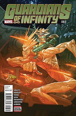 GUARDIANS OF INFINITY #7, New, First print, Marvel Comics (2016)