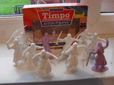 timpo boxed solid action figures,arabs