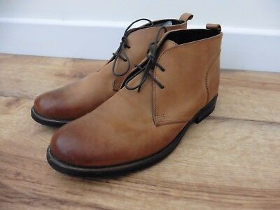 Superb size 7 Rocha John Rocha tan brown leather chukka boots in great condition