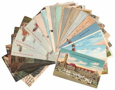 1905-1909 Variety of 20 Nice ST LOUIS UNION STATION Posted & Unposted Postcards