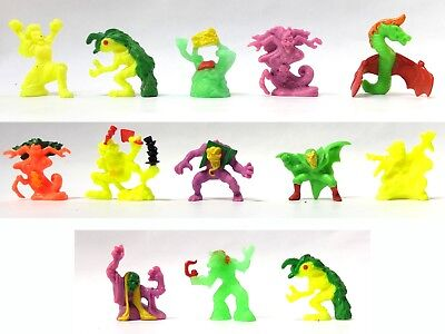 13 MIMP MONSTERS IN MY POCKET Series 4 SUPER SCARY Ghilan Lamia Drude Fachen